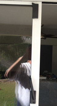Klozit Sliding Glass Door Latch System